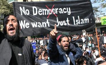 No-democracy-we-want-just-islam
