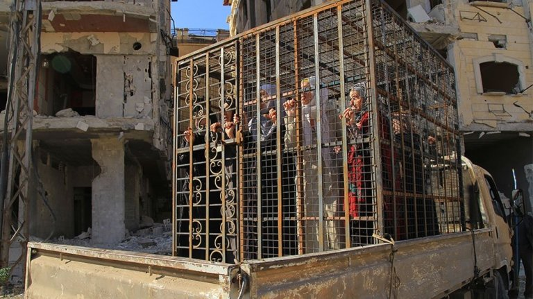 Alawite-prisoners-in-East-Ghouta