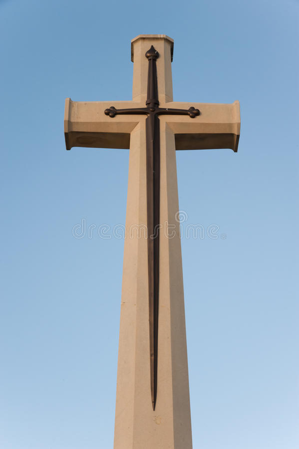 cross-sword-bronze-imposed-stone-monument-british-jerusalem-war-cemetery-mount-scopus-33147182
